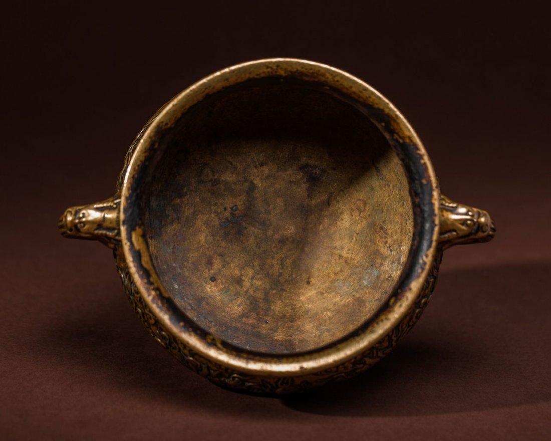 A Chinese Bronze Censer - 5
