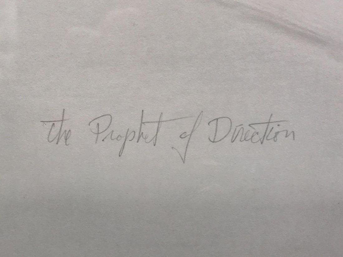 Gregory ColfaxThe Prophet of Direction,pencil signed - 5