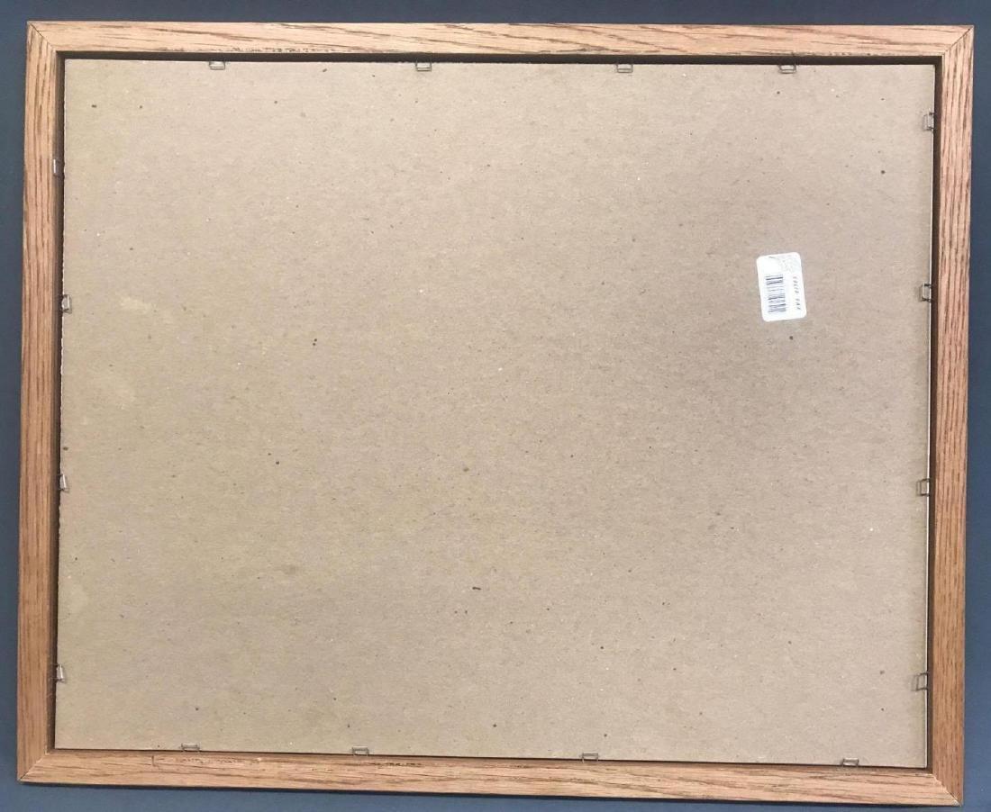 Pencil signed and numbered Jack J. Wells framed print - 6