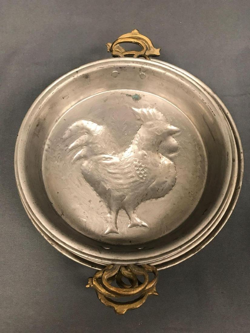Set of Four Tin Lined Nesting Molds - 8