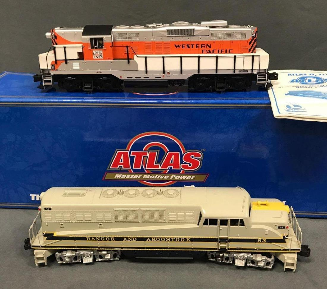 Atlas and Williams O Scale Diesel locomotives