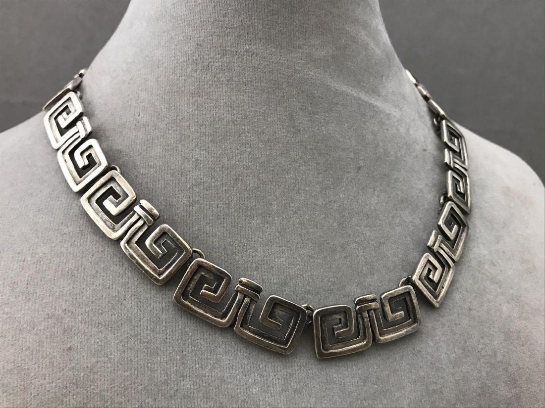Sterling silver Aztec Margotde Taxco