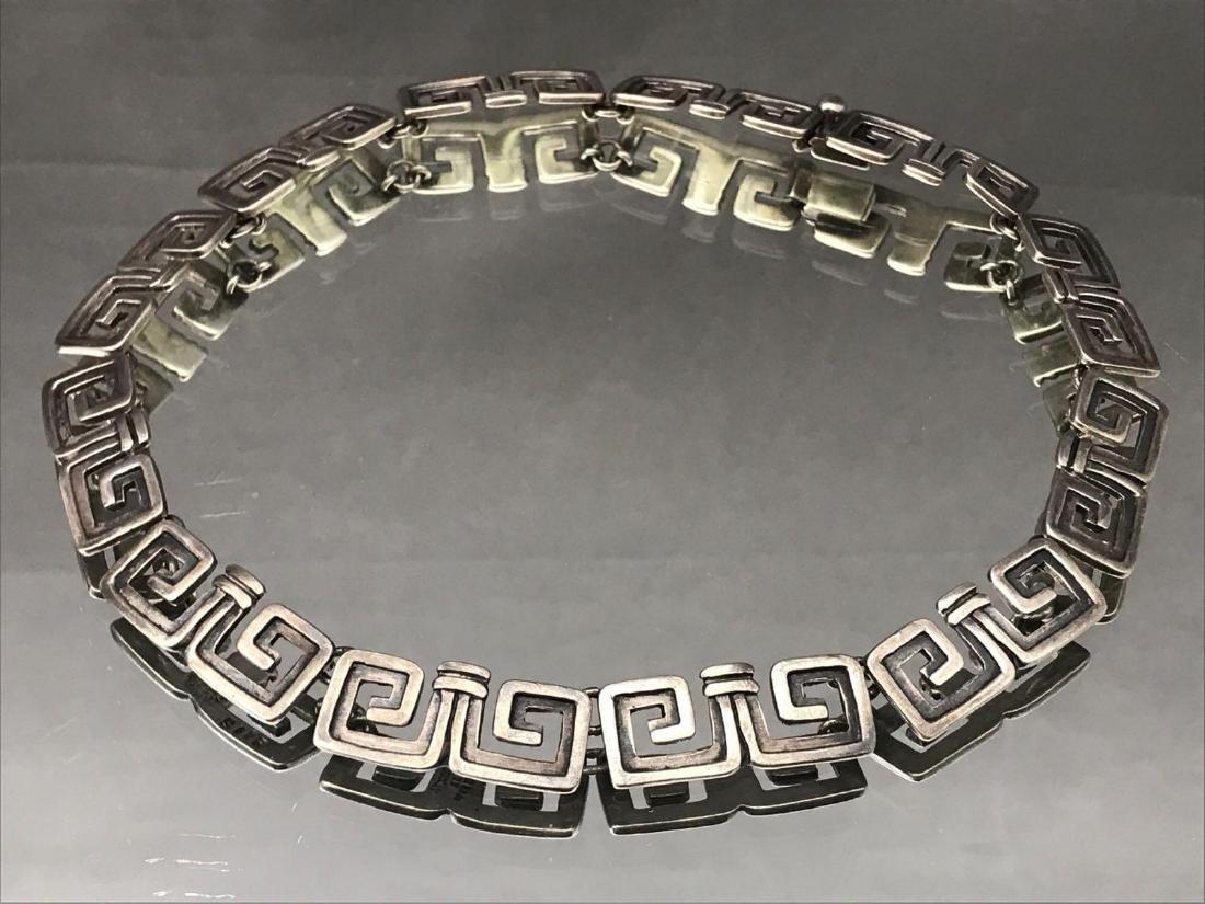 Sterling silver Aztec Margotde Taxco - 2