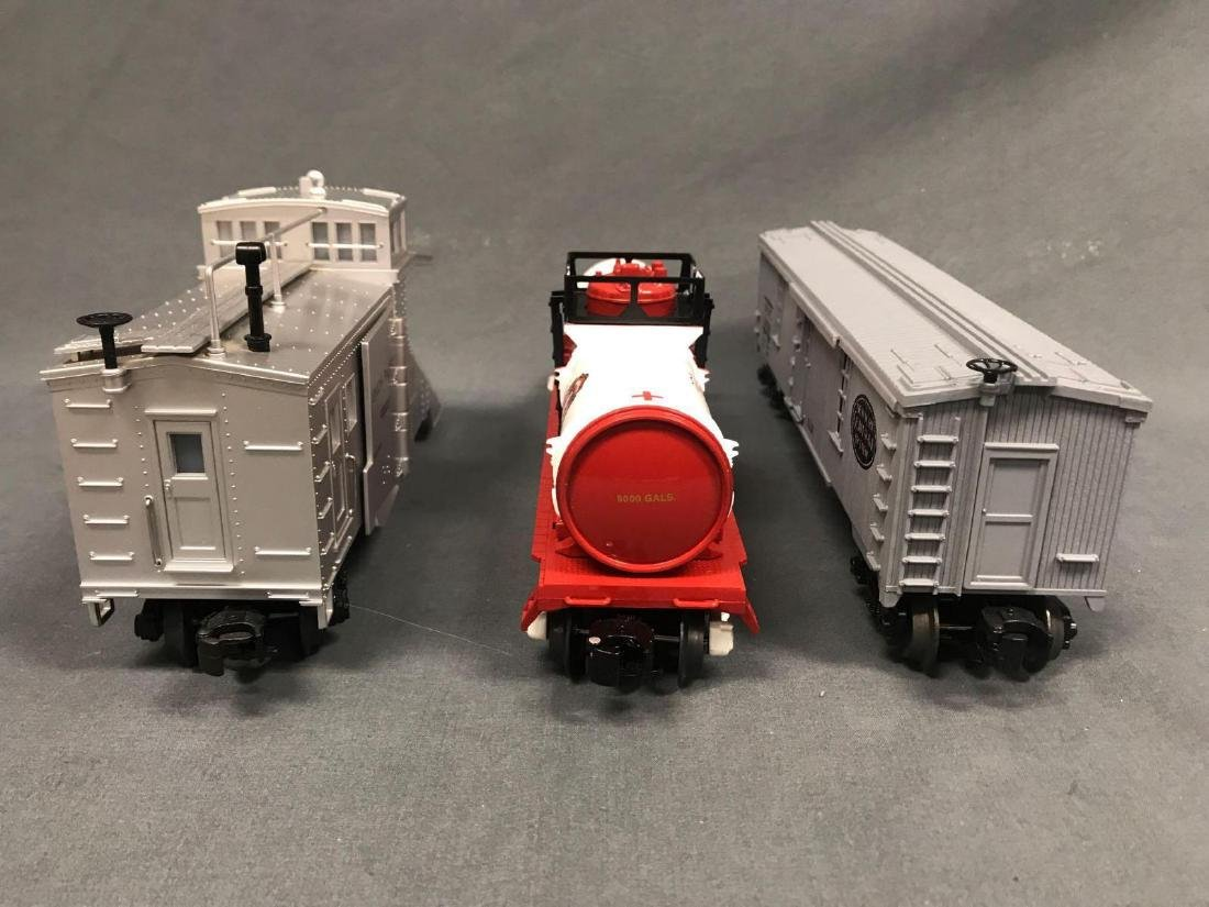 3 O Scale Lionel and MTH utility cars. Included are - 5
