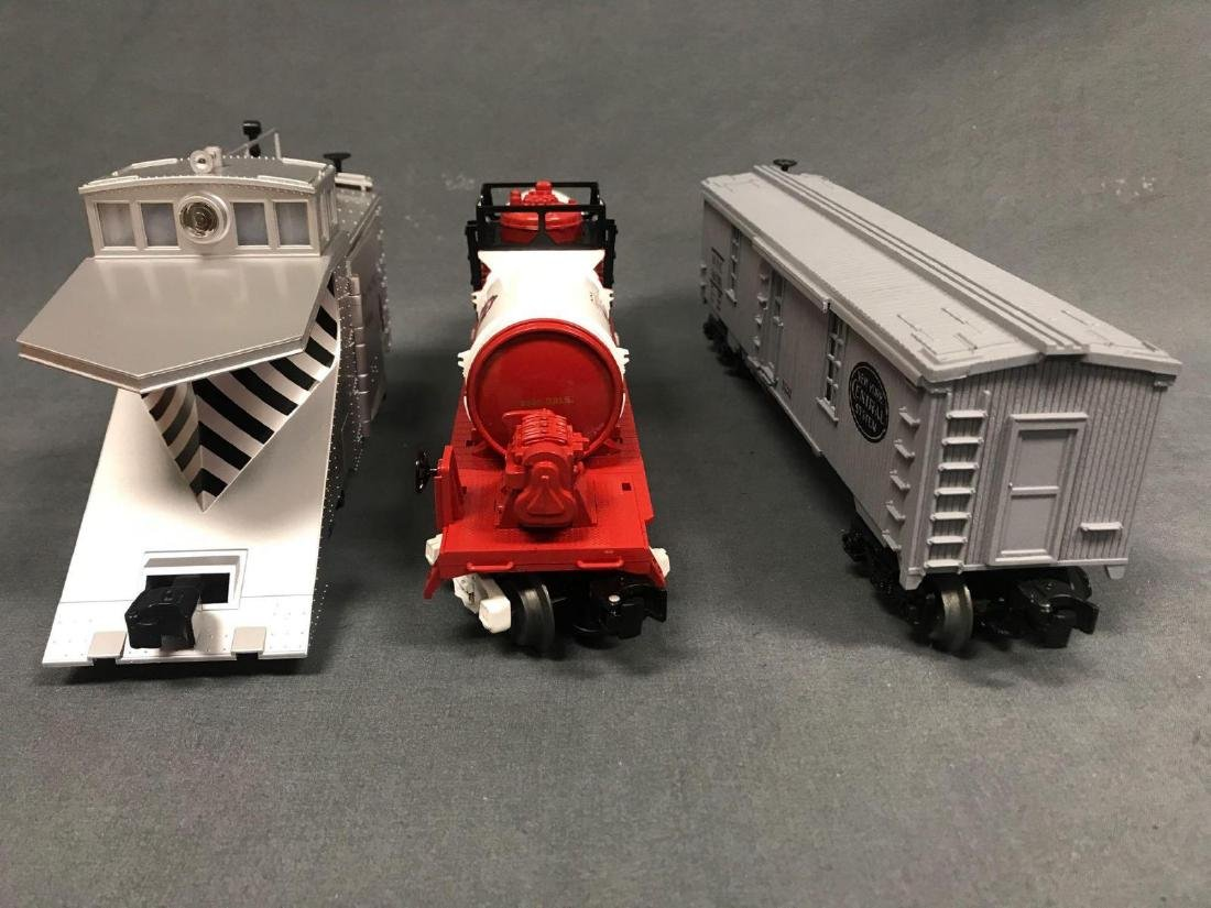 3 O Scale Lionel and MTH utility cars. Included are - 6