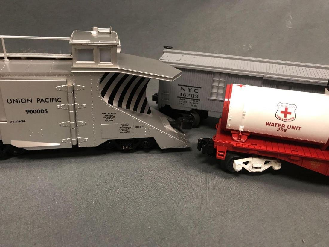 3 O Scale Lionel and MTH utility cars. Included are - 7
