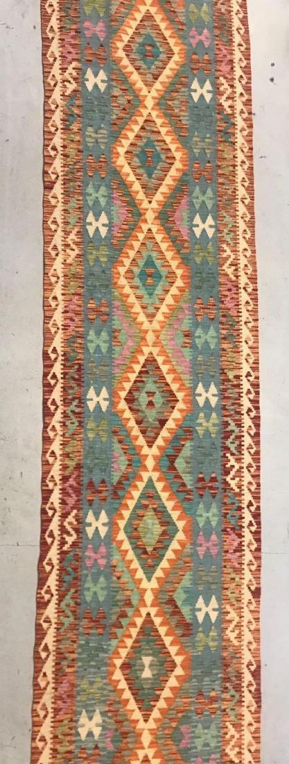 100% Wool Afghan Kilim