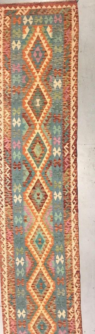 100% Wool Afghan Kilim - 2
