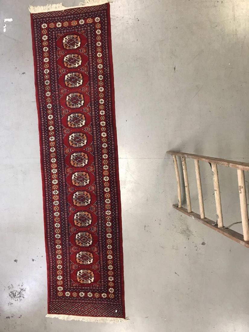 Persian Bokhara wool runner rug - 2