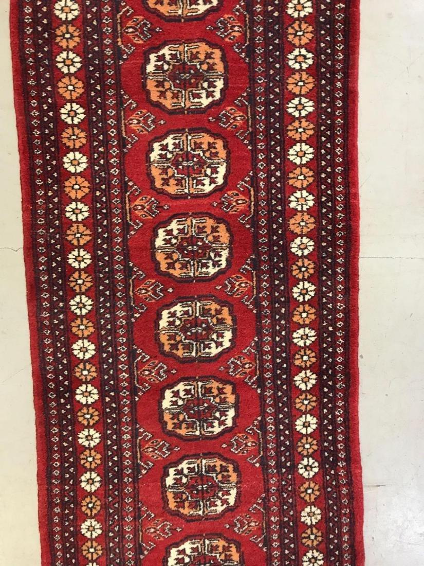 Persian Bokhara wool runner rug - 4