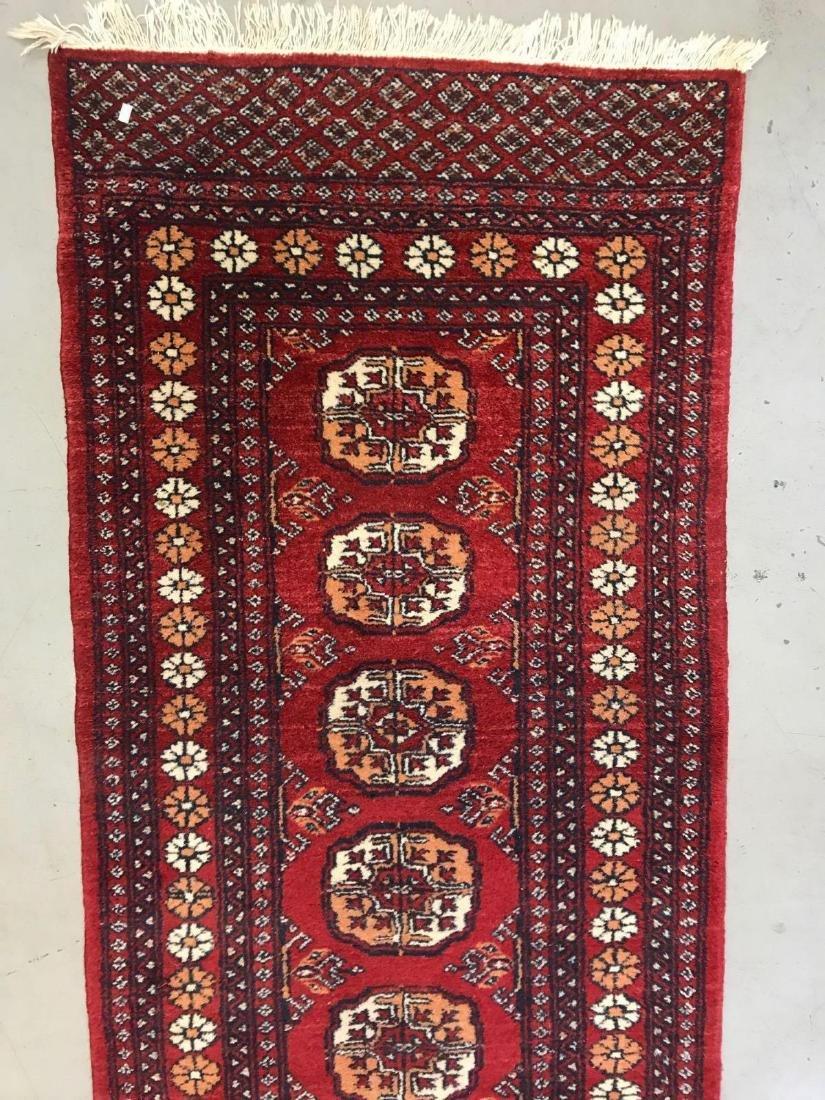 Persian Bokhara wool runner rug - 5