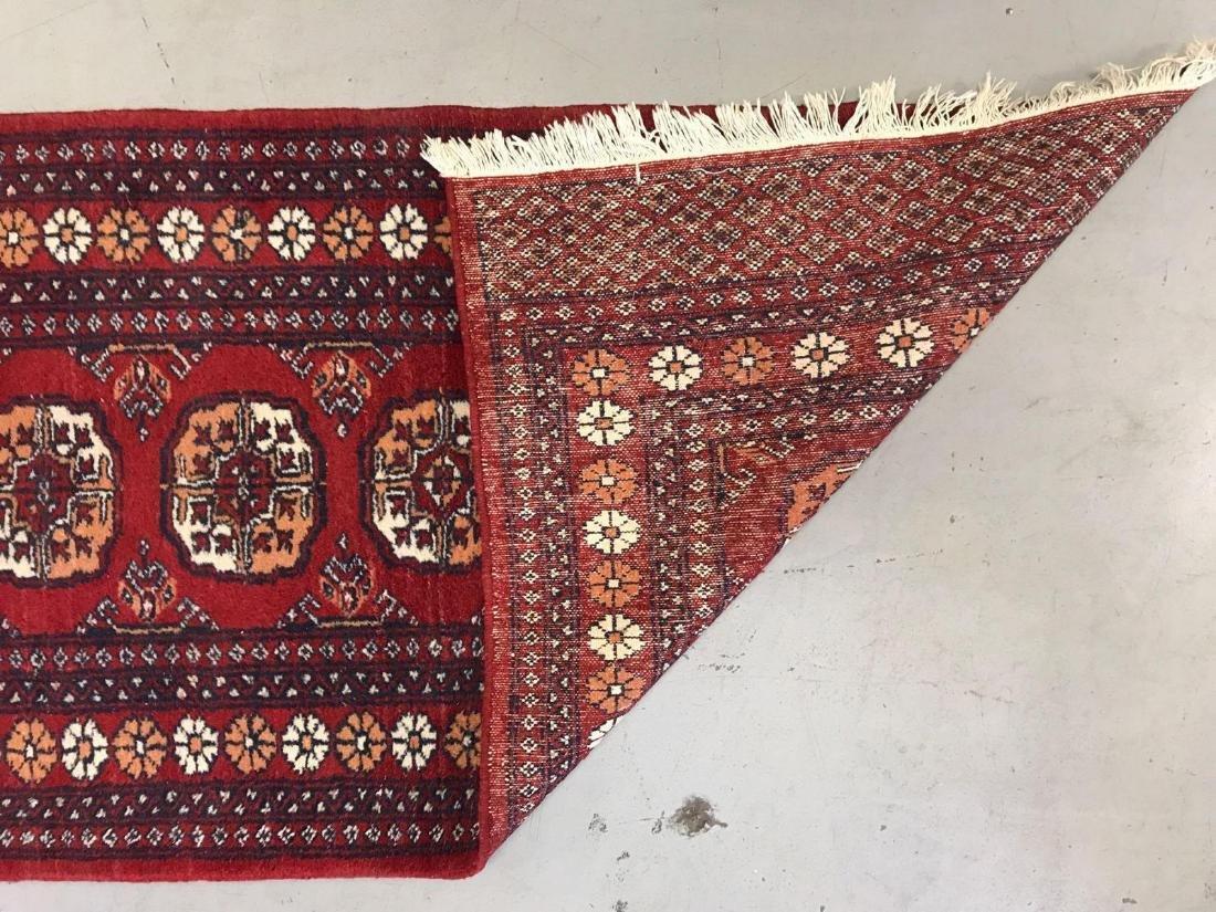 Persian Bokhara wool runner rug - 6