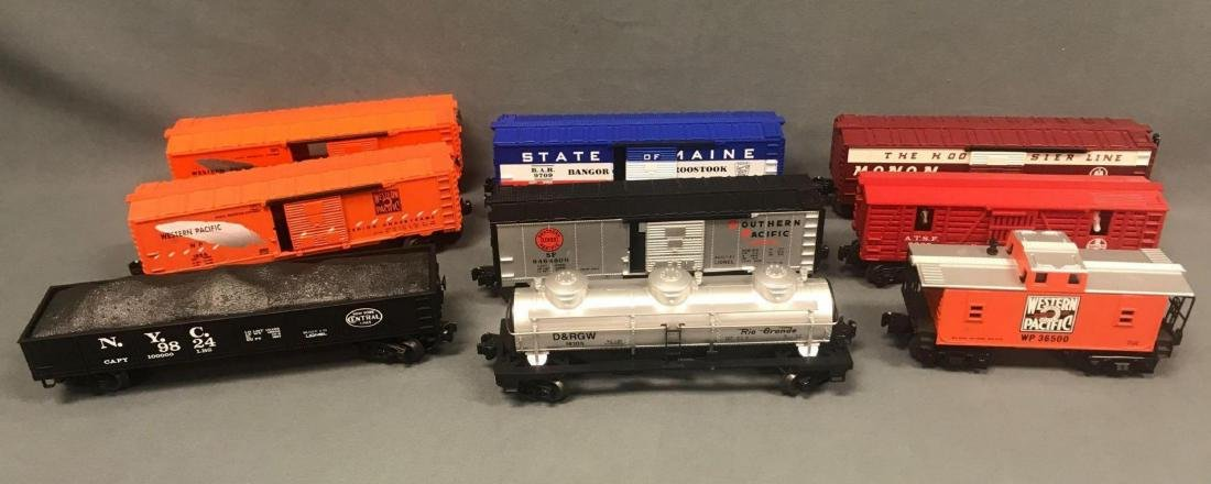 Lot of 9 Lionel O scale Freight cars
