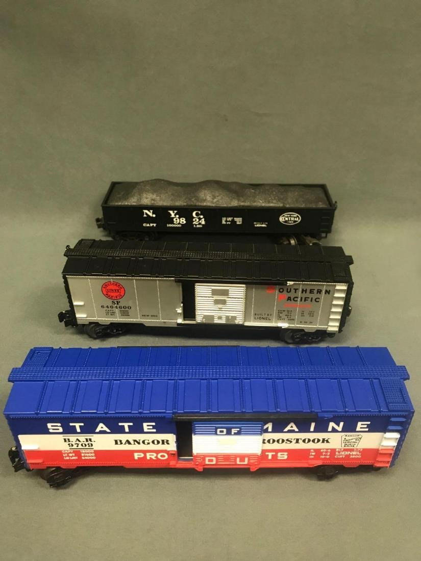Lot of 9 Lionel O scale Freight cars - 4
