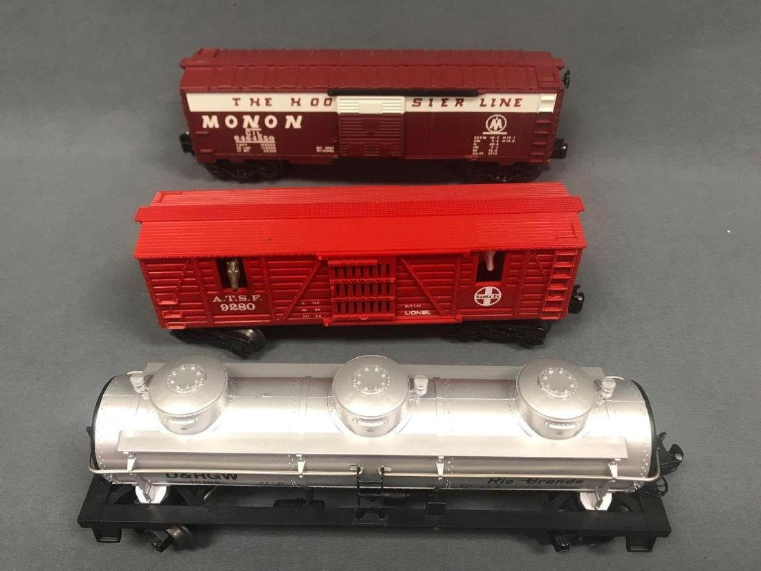 Lot of 9 Lionel O scale Freight cars - 6