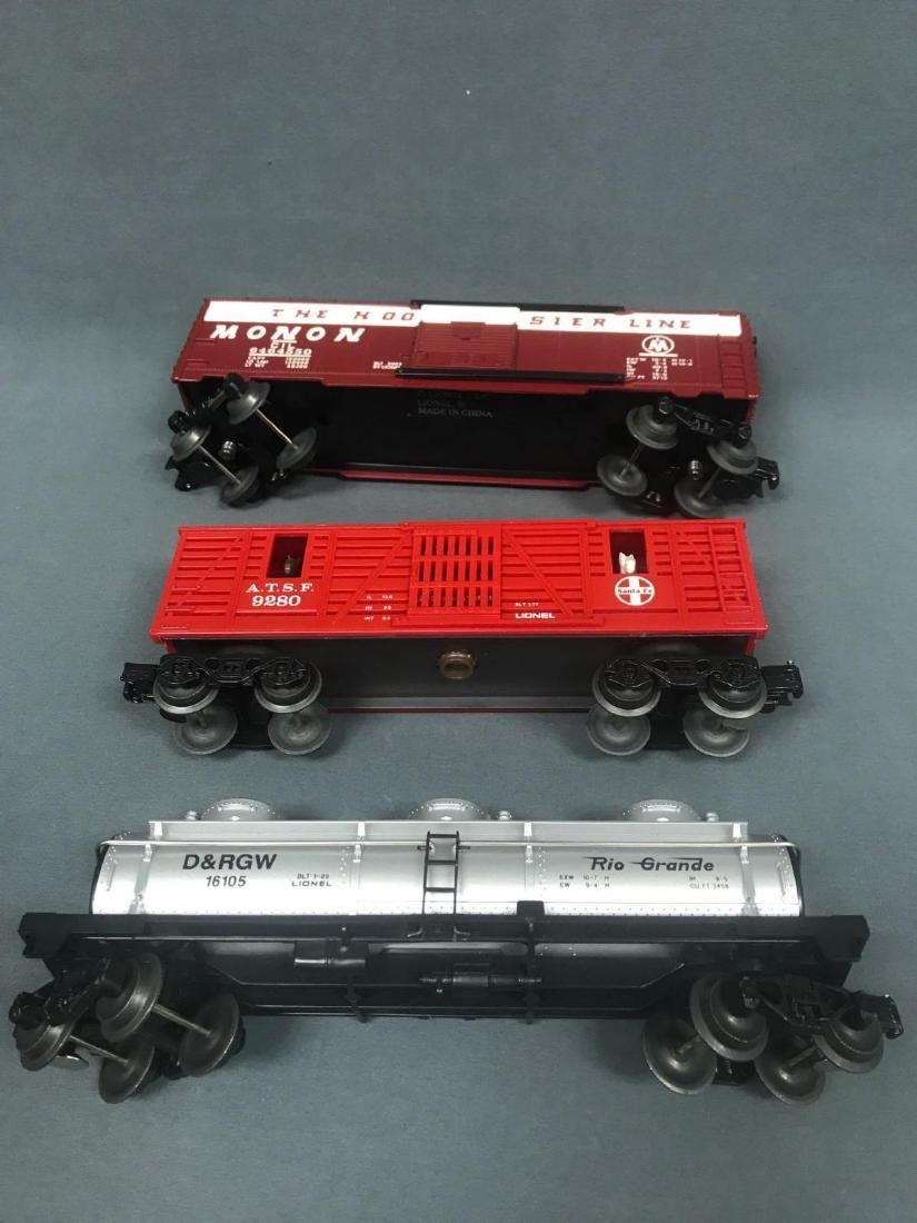 Lot of 9 Lionel O scale Freight cars - 7