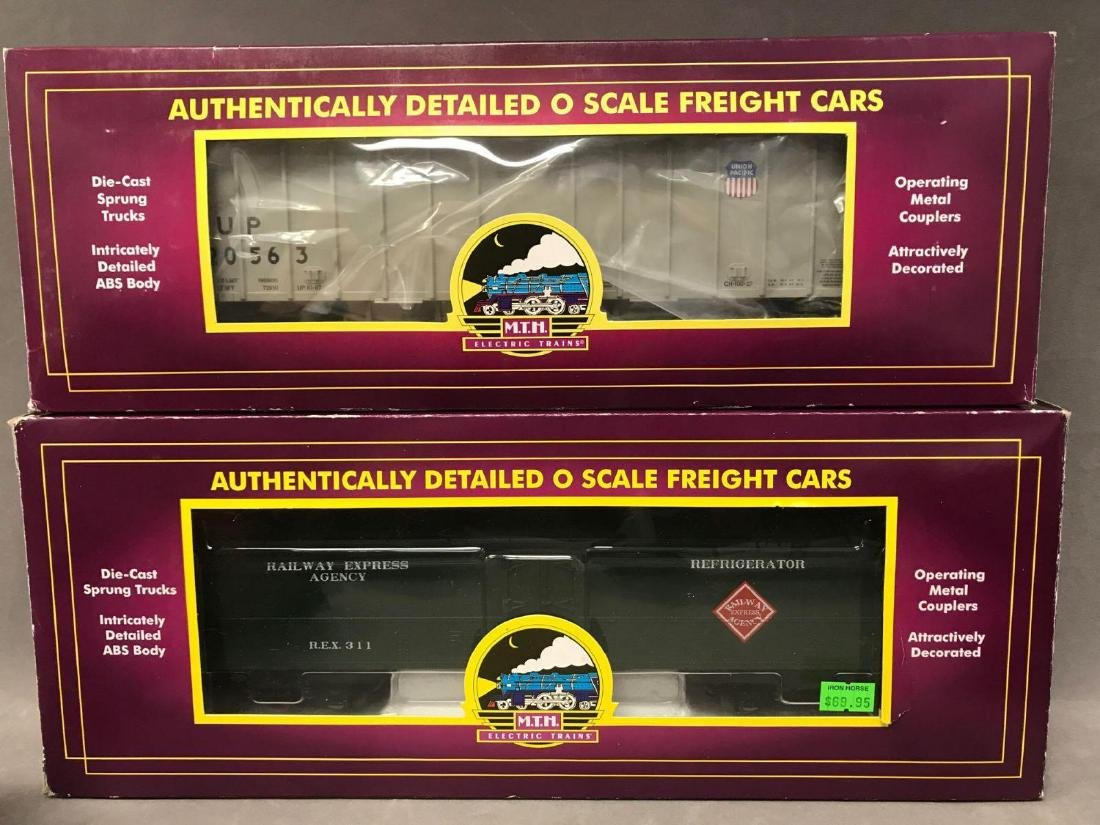Lot of 8 MTH O scale Freight cars - 2