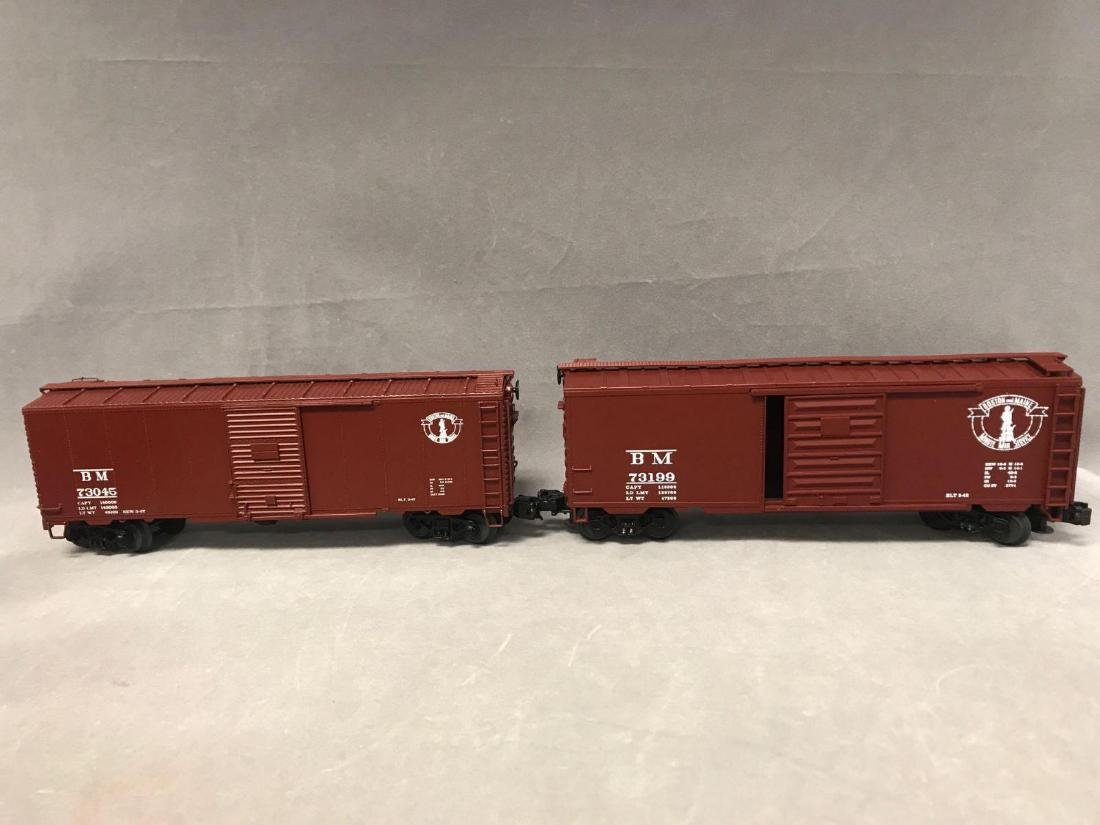Lot of 8 MTH O scale Freight cars - 4