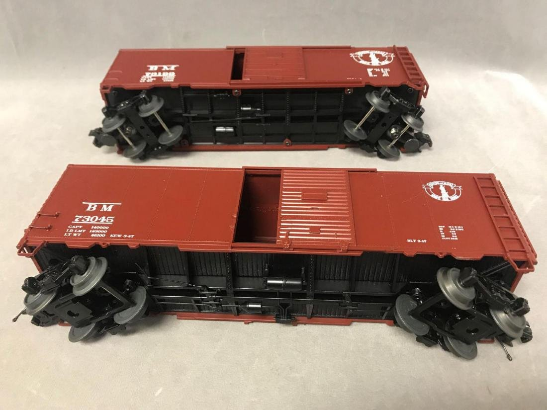 Lot of 8 MTH O scale Freight cars - 5