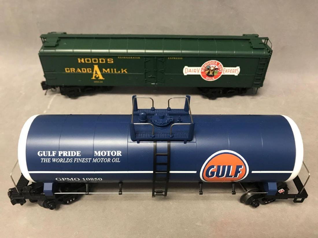 Lot of 8 MTH O scale Freight cars - 8