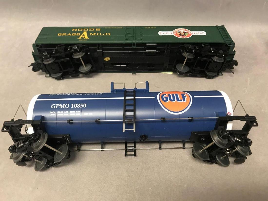 Lot of 8 MTH O scale Freight cars - 9
