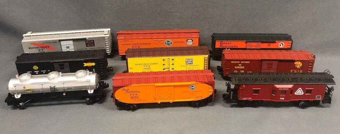 9 Lionel, Williams and IDM by UMD, O scale Freight car