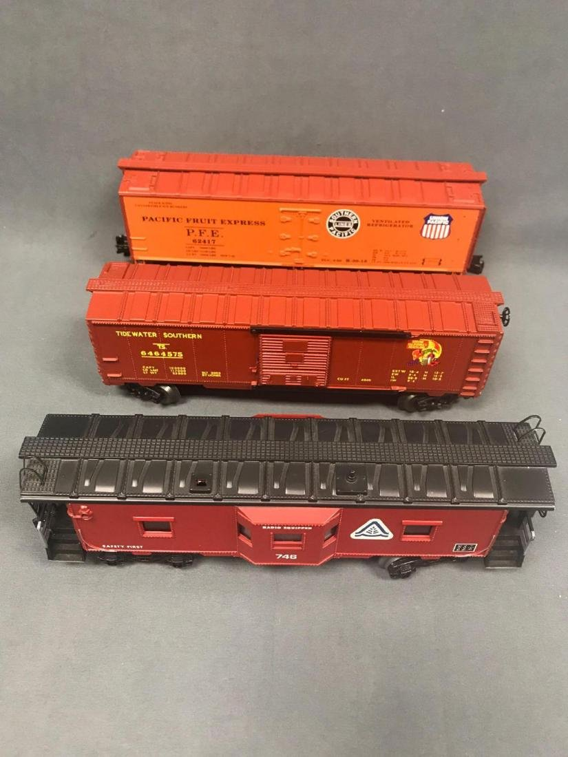 9 Lionel, Williams and IDM by UMD, O scale Freight car - 2