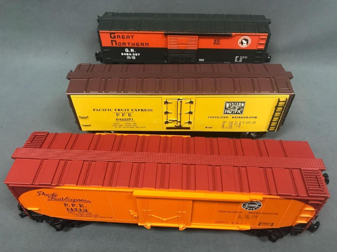 9 Lionel, Williams and IDM by UMD, O scale Freight car - 6