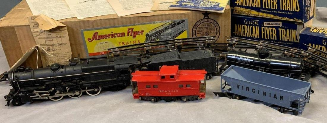1940's-50's American Flyer O scale main line freight