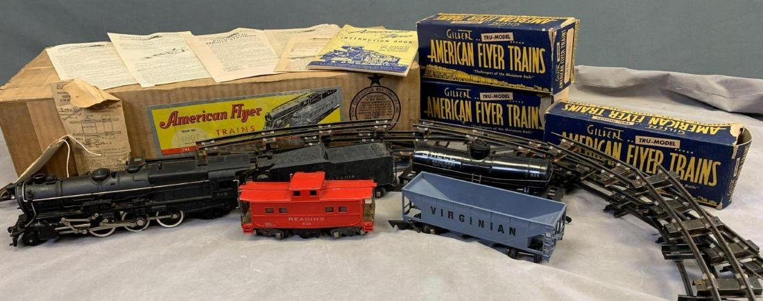 1940's-50's American Flyer O scale main line freight - 2