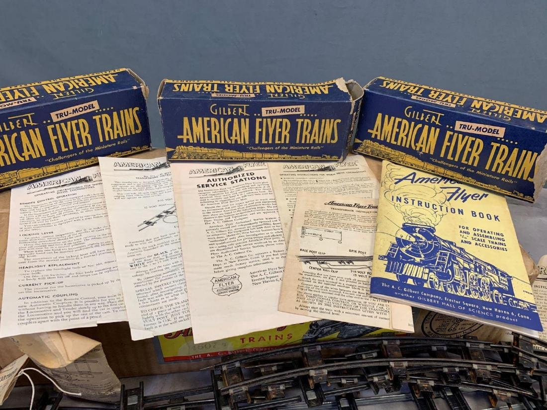 1940's-50's American Flyer O scale main line freight - 3