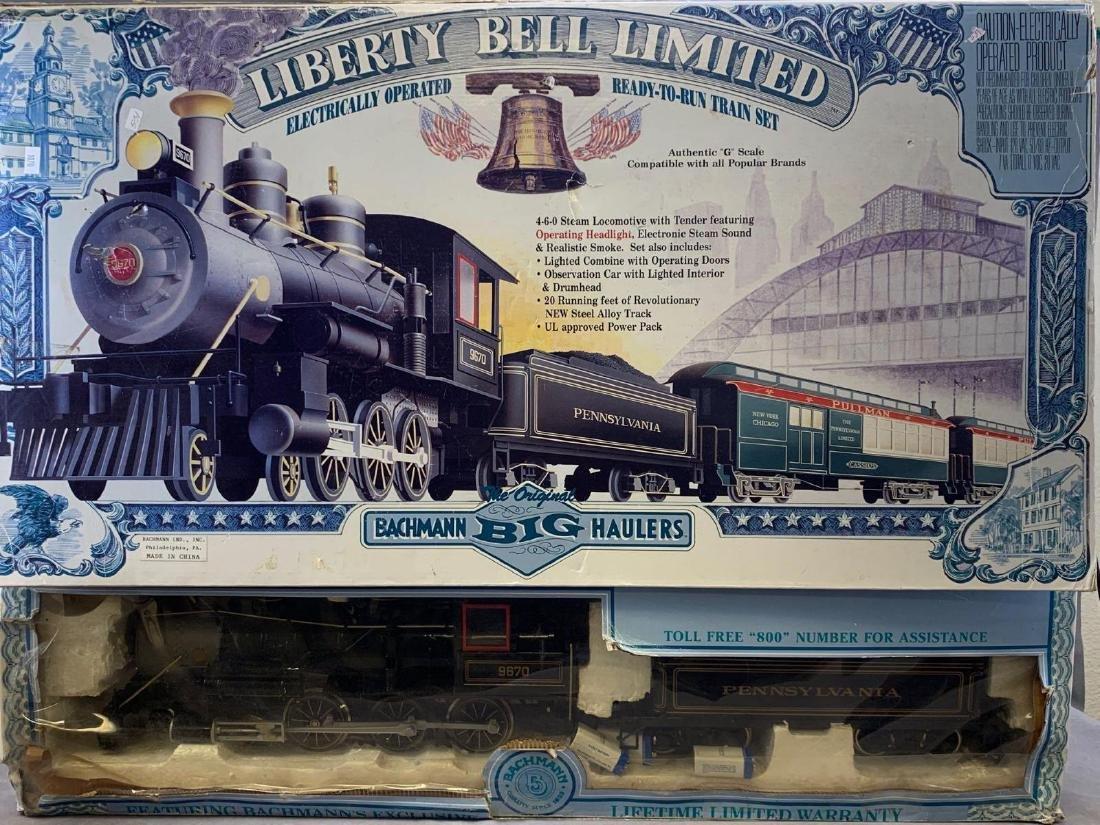 Bachmann Big Haulers G scale electric operated train