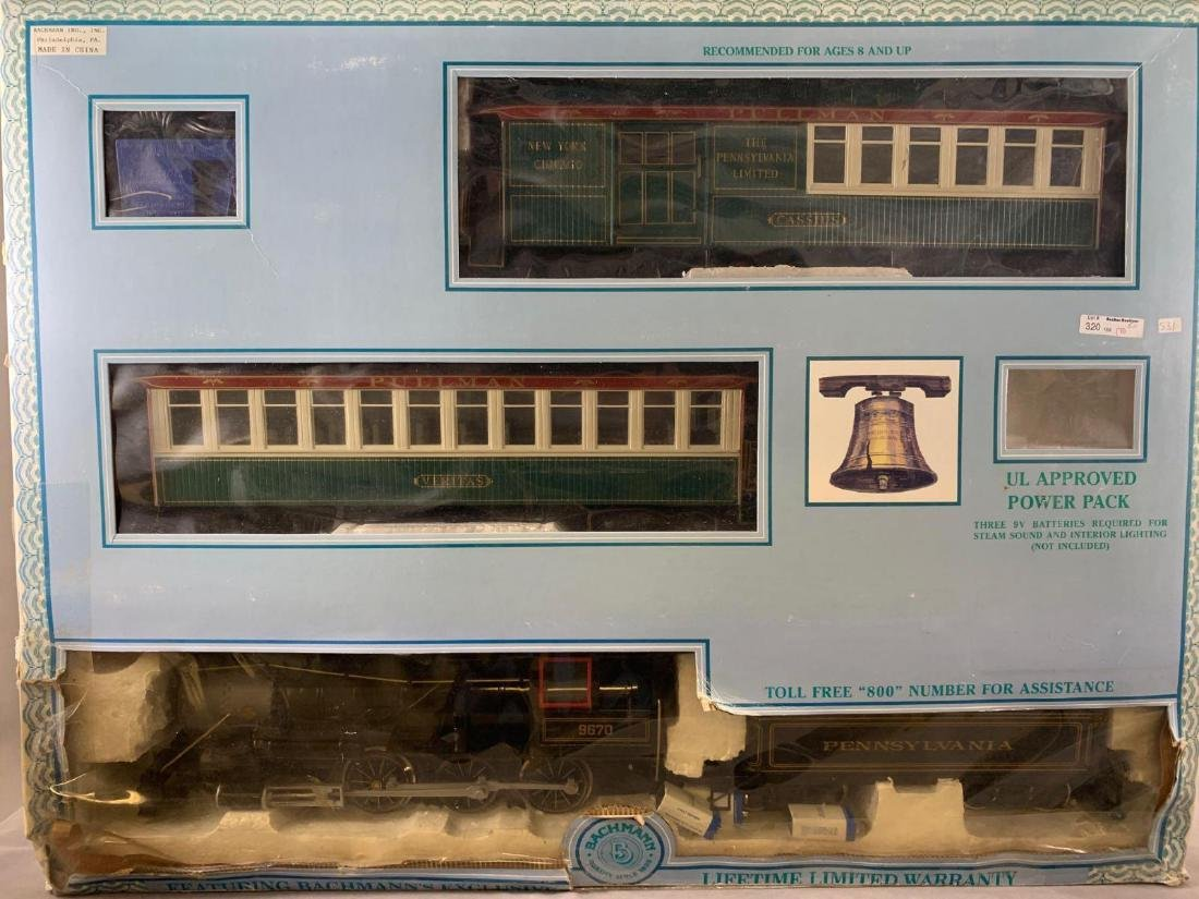 Bachmann Big Haulers G scale electric operated train - 2