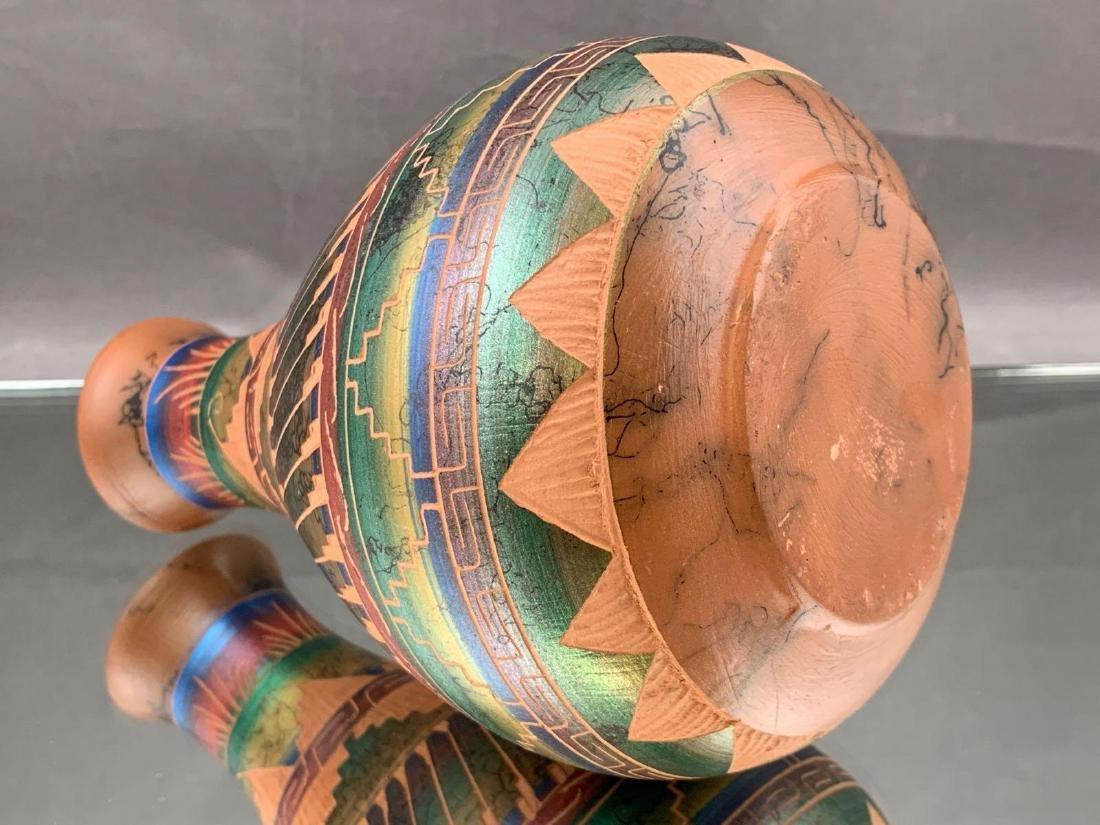 Native American Marshalene Bennett metallic horsehair - 3