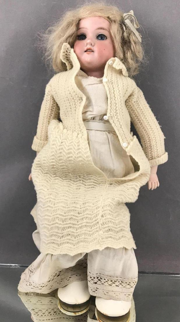 Late 1800santique Floradora doll by Armand Marseille