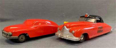 Lot of Two Vintage Toy Cars Sanders and J and S
