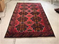 Afghan Woven Wool Tribal Rug