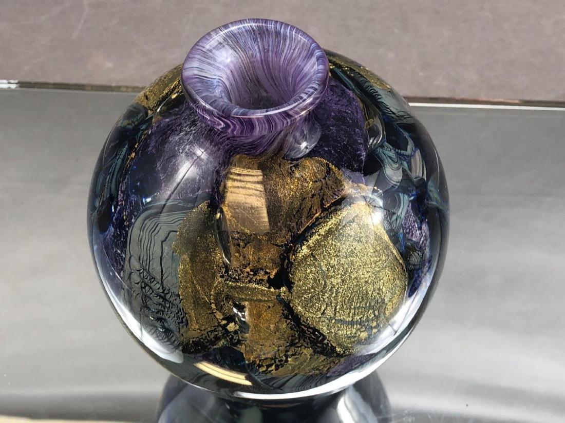 Jean Claude Novaro Art glass perfume bottle - 6
