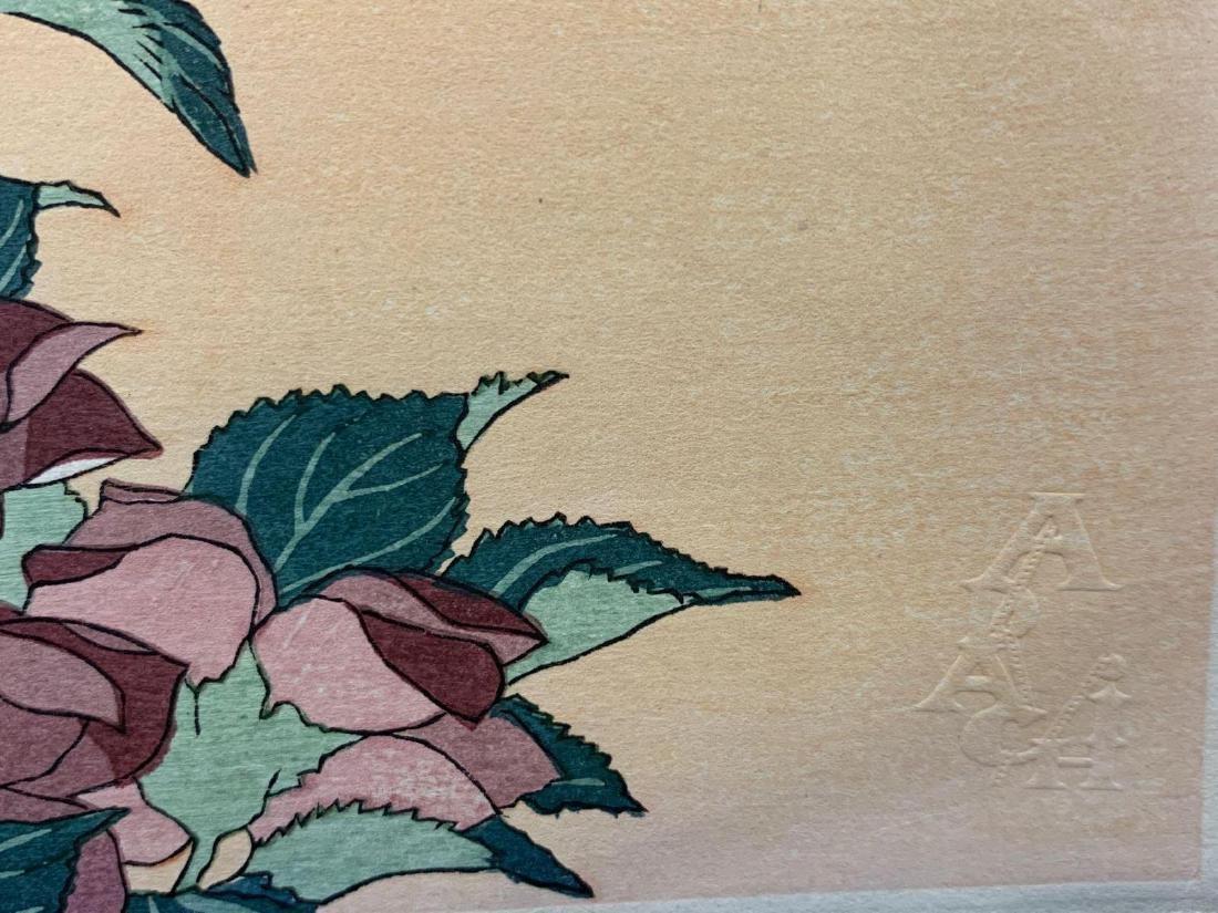 KatsushikaHokusai, Bellflower and Dragonfly, Japanese - 4