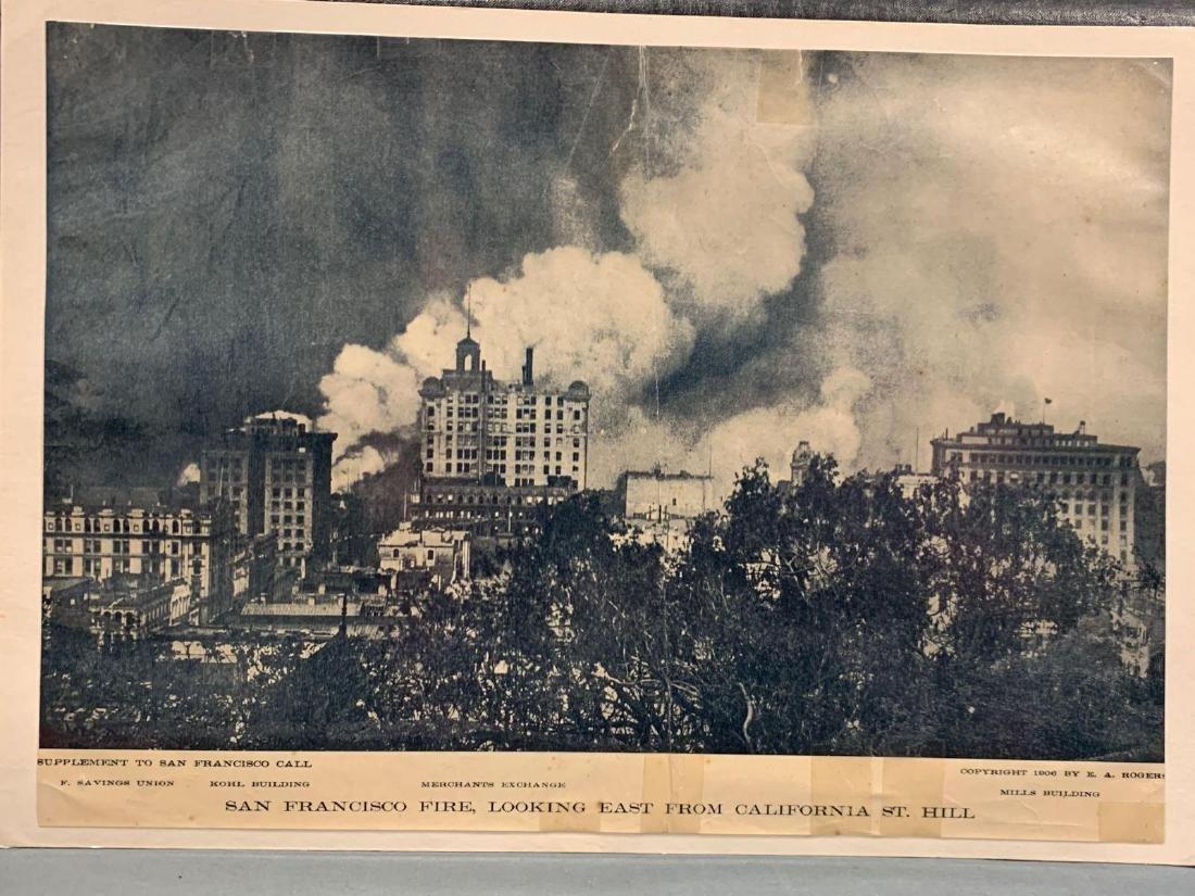 Eight Panoramic Photographs, San Francisco Earthquake, - 10