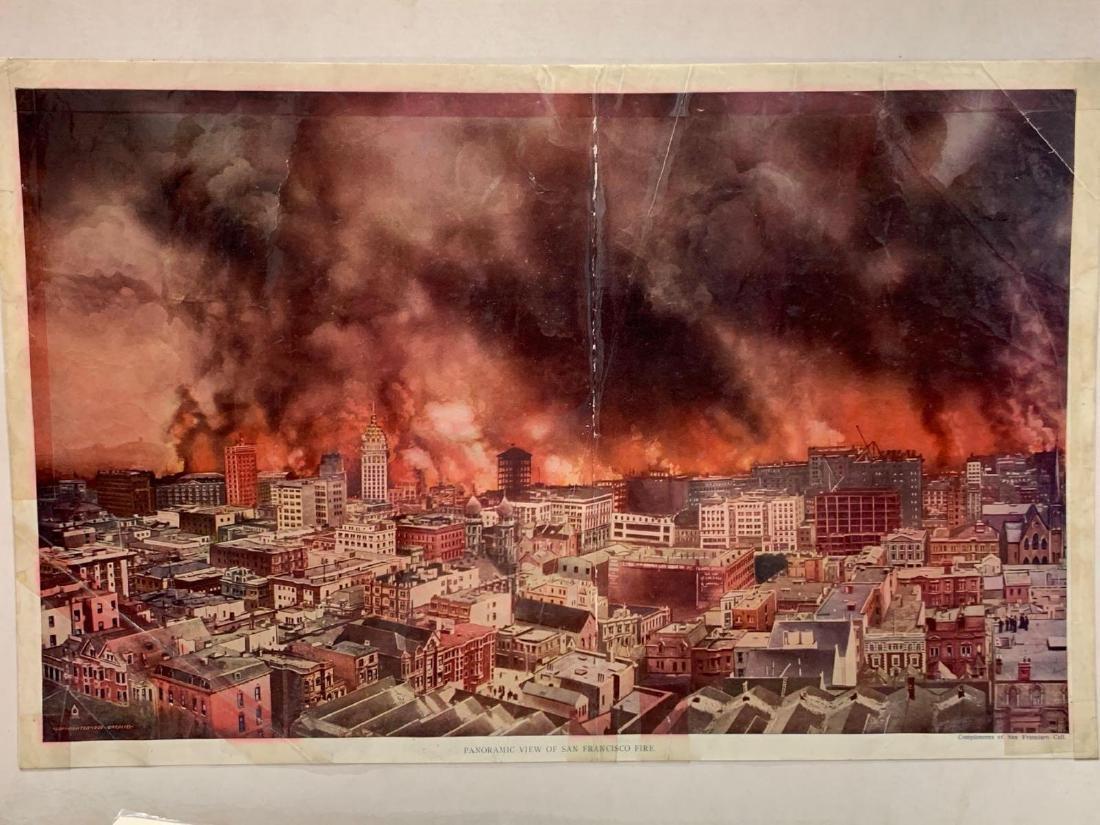 Eight Panoramic Photographs, San Francisco Earthquake, - 2