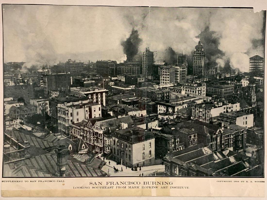 Eight Panoramic Photographs, San Francisco Earthquake, - 3