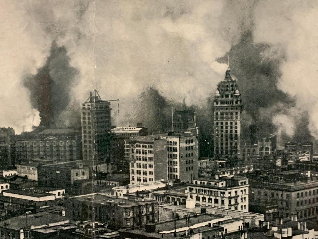 Eight Panoramic Photographs, San Francisco Earthquake, - 5