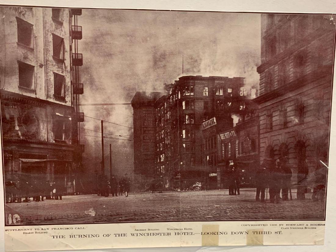 Eight Panoramic Photographs, San Francisco Earthquake, - 8