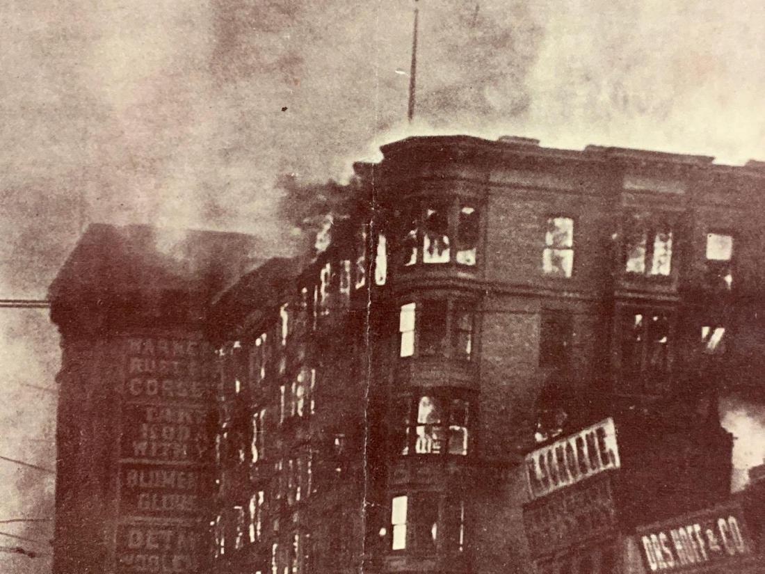 Eight Panoramic Photographs, San Francisco Earthquake, - 9