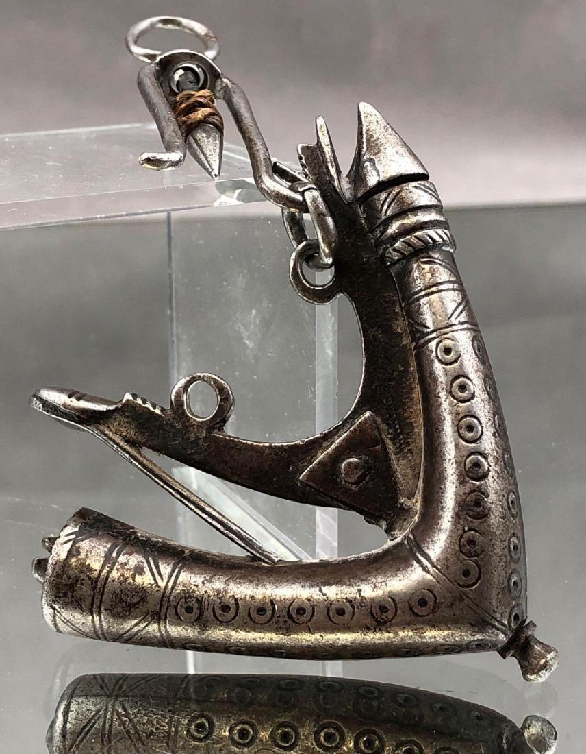 Persian Black Powder Horn, 18th or 19th C.