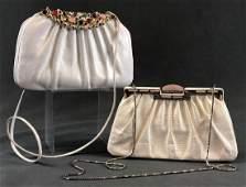Two Judith Leiber Vintage Purses