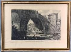 The Bridge of Cesitus, Giovanni Battista Piranesi,