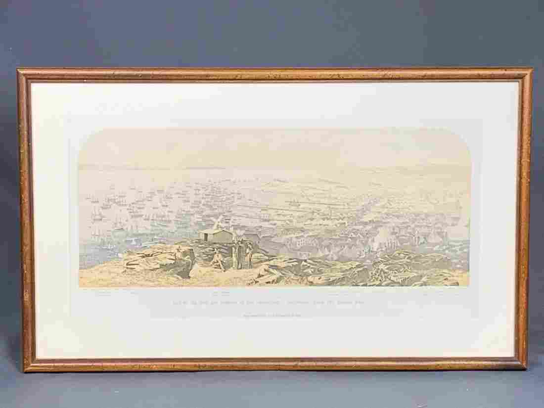 """Print Of San Francisco """"View of the Town"""""""