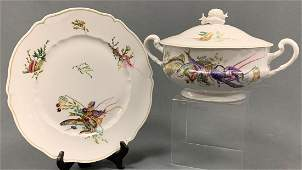 Haviland Limoges Clanaque Fish, Covered Dish